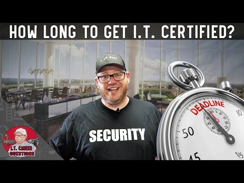 How Long Does it Take to Get an I.T. Certification? #comptia #cisco ...