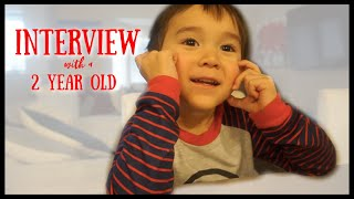 Interview With a 2 Year Old | Speech Delay