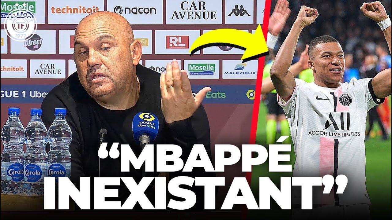 Antonetti CLASHE Mbappé après PSG-Metz !  - La Quotidienne #929
