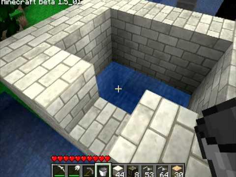 Различные механизмы в Minecraft - 17 серия