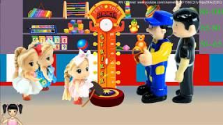 BabyBus - Tiki Mimi và Trò Chơi bé đi chơi công viên vui nhộn, trò chơi đấm bóc