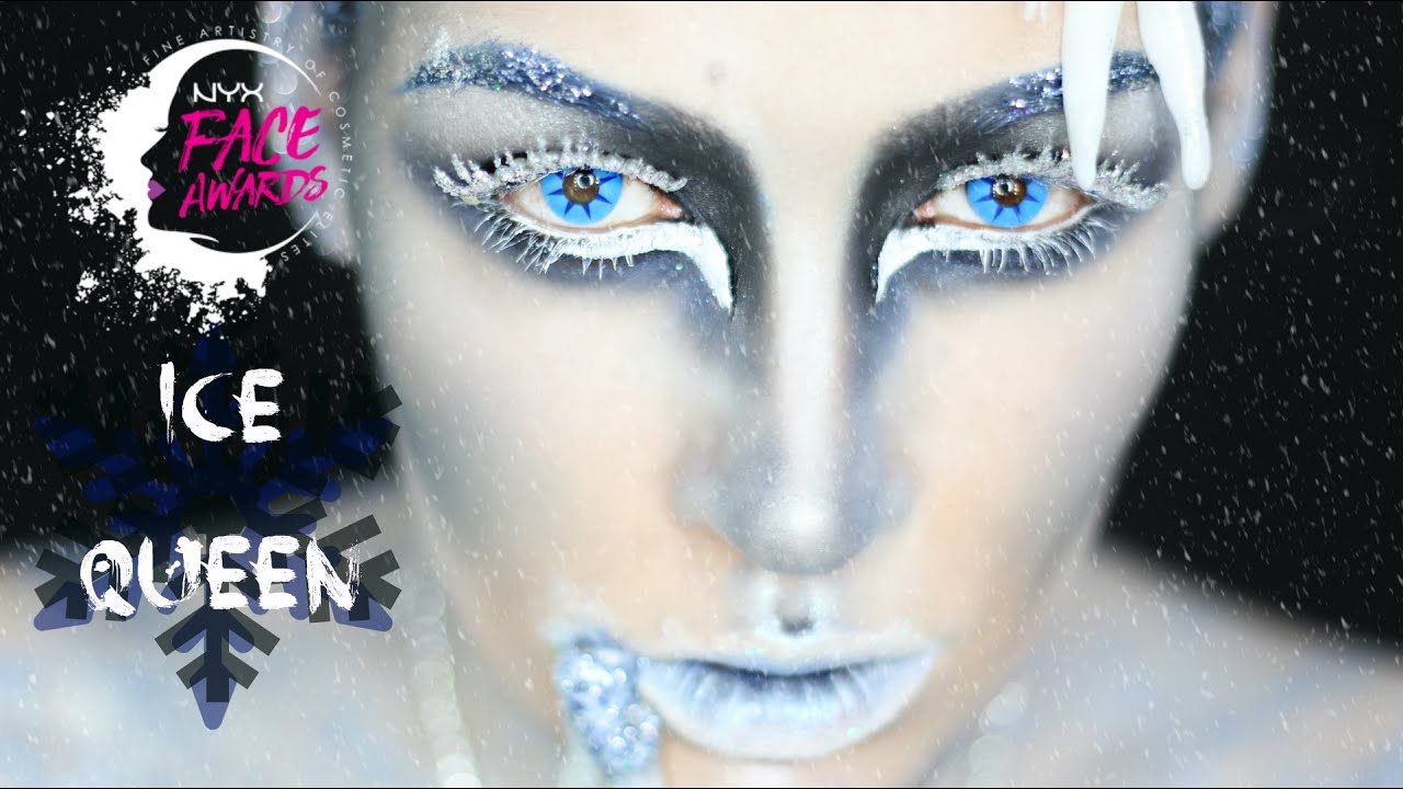 NYX SPAIN FACE AWARDS 2016 / Ice Queen Makeup #teamnona