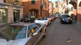 preview picture of video 'Ferruccio Day - Sant'Agata Bolognese - Lamborghini meeting 2012 - N°1/4'
