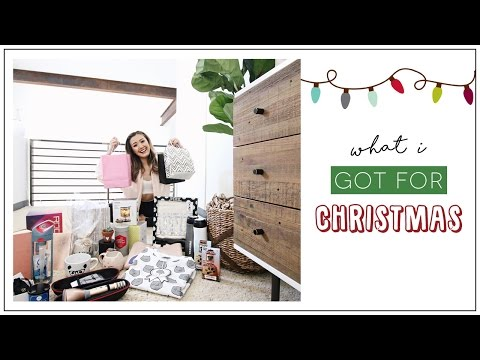 What I Got for Christmas | ilikeweylie