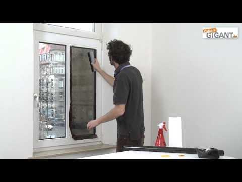 Montage einer Sonnenschutzfolie | folien-gigant.de