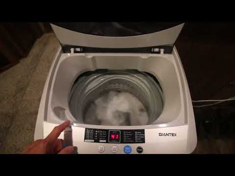 Giantex Washing Machine Review and Mod