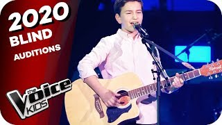 Eagles - Hotel California (Bjorn)   The Voice Kids 2020   Blind Auditions