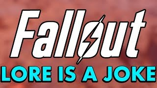 Fallout Lore is a Joke... According to Bethesda (Fallout 4 & 76 Lore Issues & Attention to Detail)