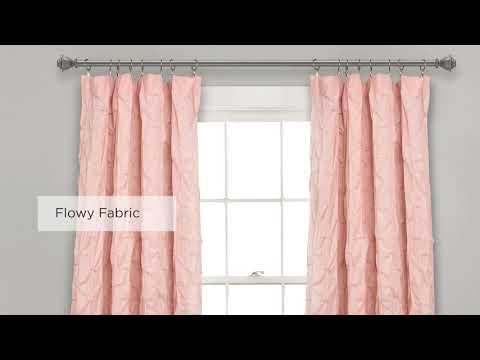 Ravello Pintuck Window Curtain Panel