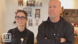 Demi Moore, Bruce Willis Dance In Quarantine