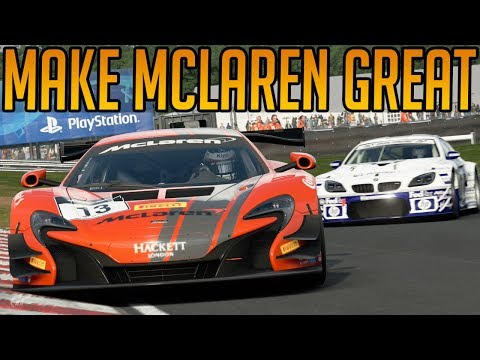 Gran Turismo Sport: Making Mclaren Great Again
