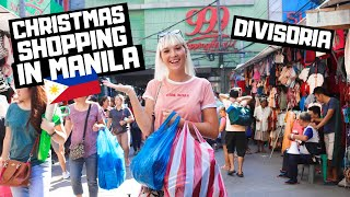 CHRISTMAS Shopping in MANILA? Divisoria Mall, Philippines was CRAZY!!