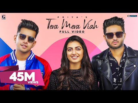 Tera Mera Viah : PRIYA (Full Song) Jass Manak | Rav Dhillon | MixSingh | GK DIGITAL | Geet MP3