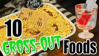 10 DIY Halloween Gross-Out Food Ideas with Kalium | Kamri Noel