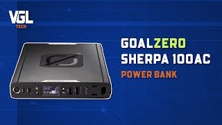 GoalZero Sherpa 100 AC Power Bank Unboxing