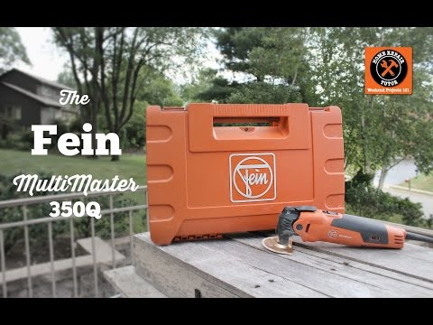 Fein MultiMaster 350Q Review -- by Home Repair Tutor