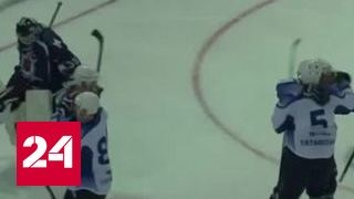 Хоккей. Российские полицейские разгромили немцев и французов