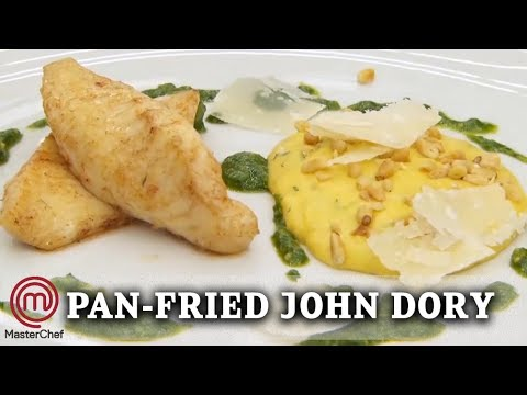 John Dory With Polenta And Pesto | MasterChef UK