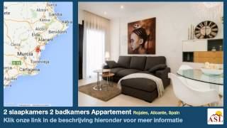 preview picture of video '2 slaapkamers 2 badkamers Appartement te Koop in Rojales, Alicante, Spain'