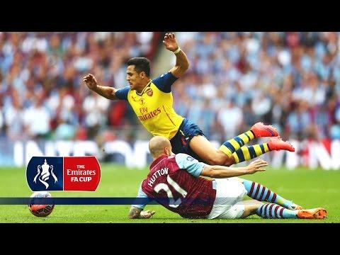 Arsenal 4-0 Aston Villa (Pitchside & Tunnel Cam) FA Cup Final 2015 | Snapshots