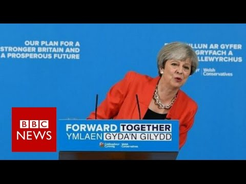 Theresa May changes social care plans - BBC News