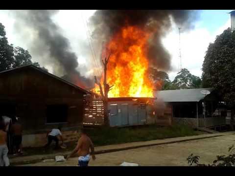 Incêndio em Atalaia do Norte