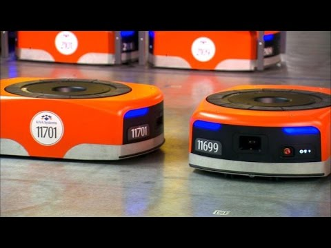 Meet the robots making Amazon even faster