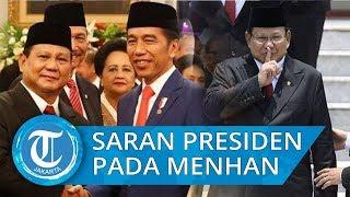Presiden Jokowi Ingatkan Prabowo Jangan Banyak Impor di Bidang Pertahanan