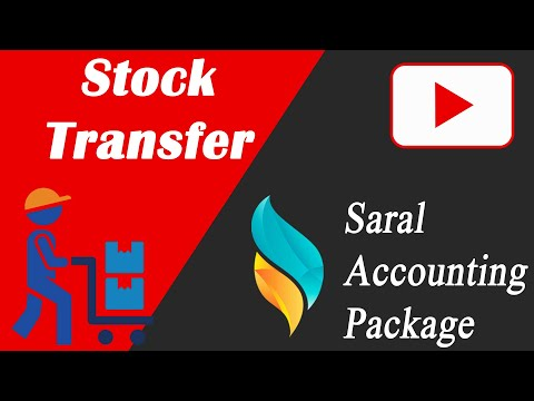 Stock Transfer | Stock Issue Receive Reports in Saral | Saral Accounting Package