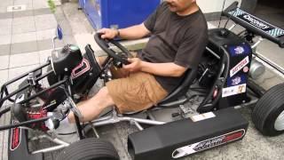 「まんま公道マリオカート」なミニカー「X-KART」の試乗レクチャー