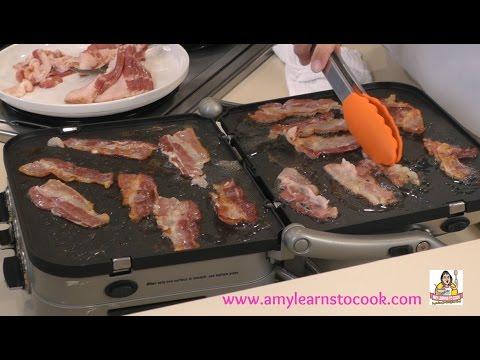 Cooking Breakfast on the Cuisinart Griddler GR-4N - Test & Review