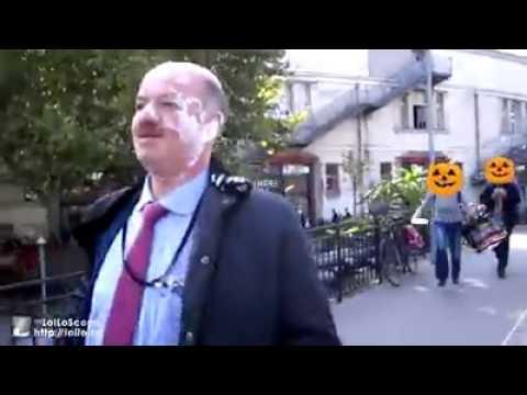 Nantes (44) : Alain Bauer entarté par des anarchistes (MàJ vidéo)