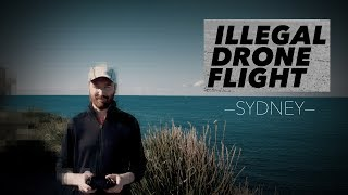 Illegal Drone Flight in Sydney, Australia | Hey.film podcast ep26