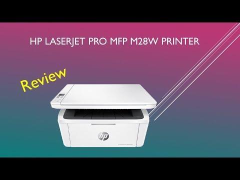 HP LaserJet Pro MFP M28w printer review