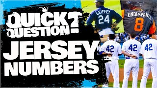 Where do jersey numbers actually come from?   Quick Question (MLB Originals)