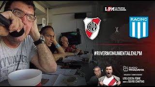 River Vs. Racing EN VIVO - Fecha 18 Superliga - Relatos Atilio Costa Febre