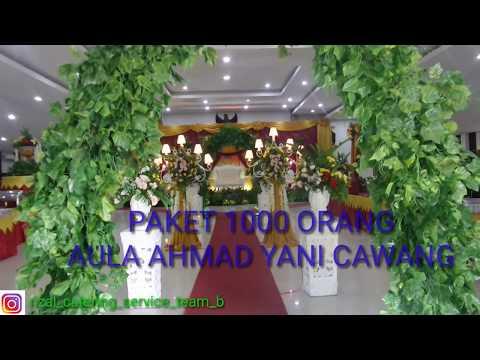 Pernikahan Hemat 1000 orang mulai dari 58.9juta aula ahmad yani cawang #pernikahan #penganten