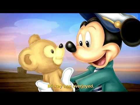 Peluche doudou ours Duffy The Disney Bear Disneyland Paris 40 cm