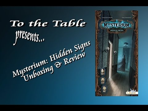To the Table - Mysterium: Hidden Signs Unboxing & Review