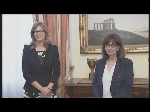 Συνάντηση της ΠτΔ με την ΥΠΕΞ της Βουλγαρίας