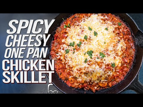 Looks Good: SPICY CHEESY CHICKEN SKILLET IN ONE PAN