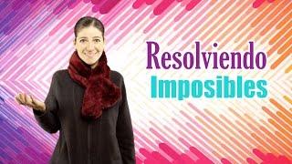 Resolviendo imposibles. Devocionales cristianos para niños. Miss Nat. Amy & Andy