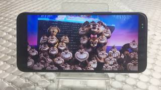 18:9 Full Screen UHANS i8 Display Effect-Movie watching