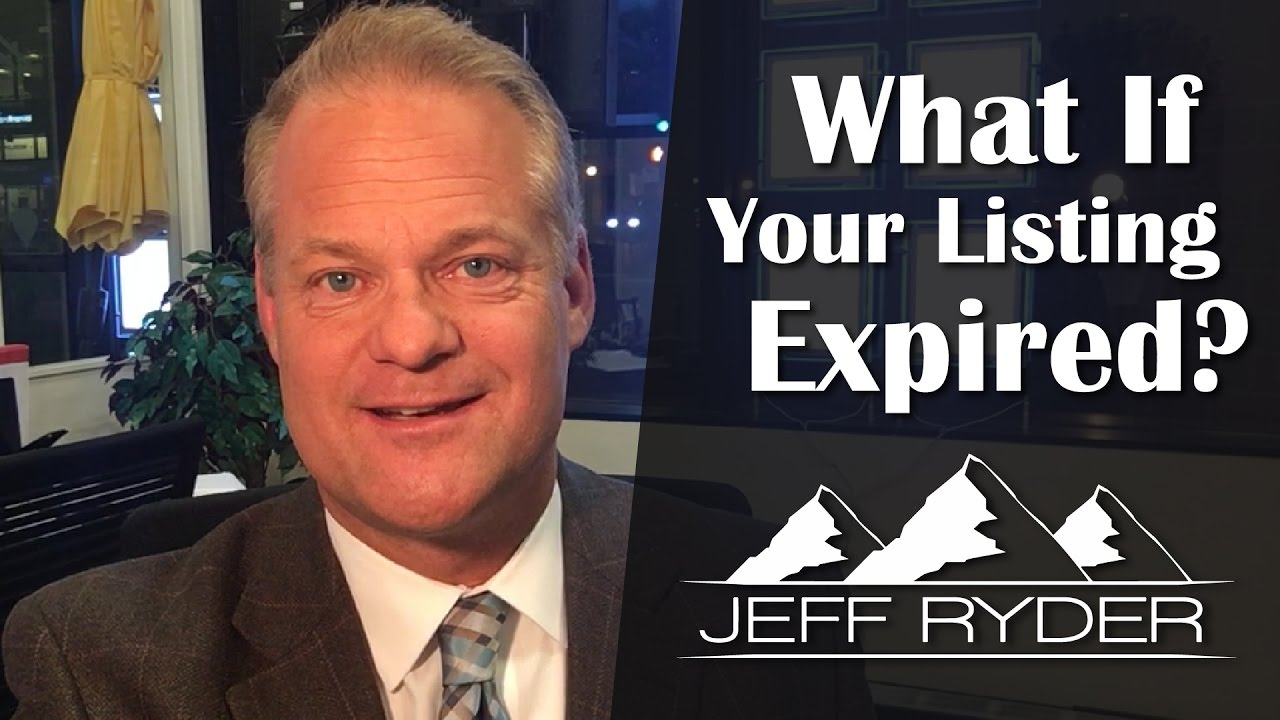 Your Colorado Springs Listing Expired. Now What?
