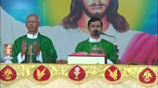 Holy Eucharist Celebrated By Rev.Fr.Evan Gomes At DCC Mulki On 13-10-2018