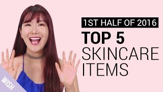 Top 5 Best Korean Skincare Products At Wishtrend