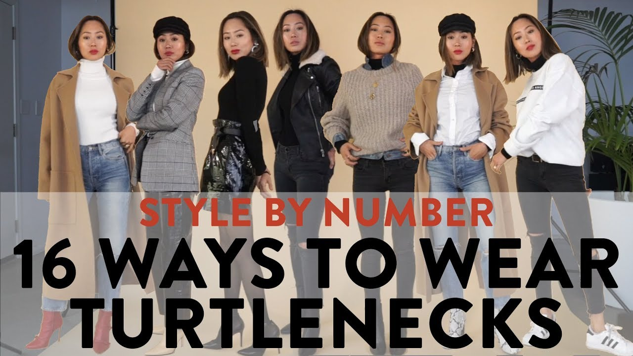 16 Ways To Wear A Turtleneck - Style By Number | Aimee Song