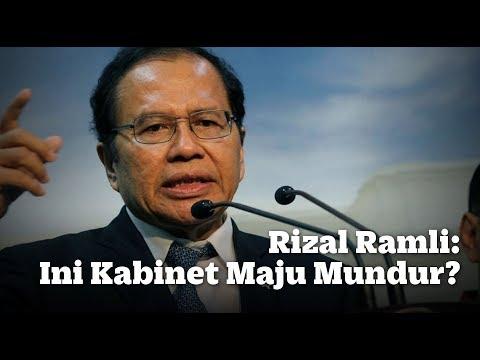 Rizal Ramli: Ini Kabinet Maju Mundur?