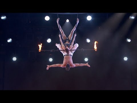 Duo Transcend Trapeze Act Stunt Goes Wrong Shocks Audience on America's Got Talent