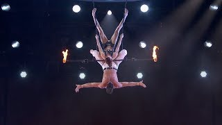 Duo Transcend Trapeze Act Stunt Goes Wrong Shocks Audience on America